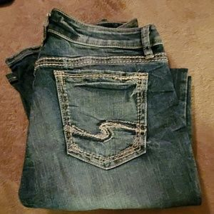 Womens Silver jeans